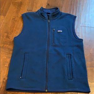 Navy Blue Patagonia vest
